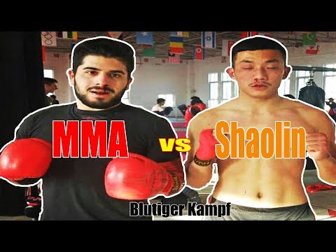 MMA Fighter 🇩🇪 vs Shaolin Warrior 🇨🇳