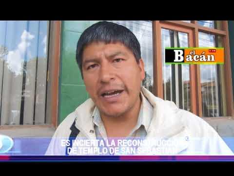 ES INCIERTA LA RECONSTRUCCIÓN DE  TEMPLO DE SAN SEBASTIÁN