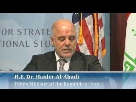 Prime Minister of Iraq Haider Al Abadi Speech