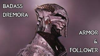 Skyrim Mods - Kynreeve - Dremora Armor and Follower