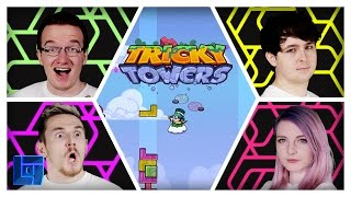 Tricky Towers Lets Play | w/ LDShadowLady, MiniLadd, SmallishBeans and Syndicate | Legends of Gaming