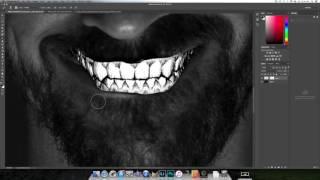Making creepy portraits in Photoshop