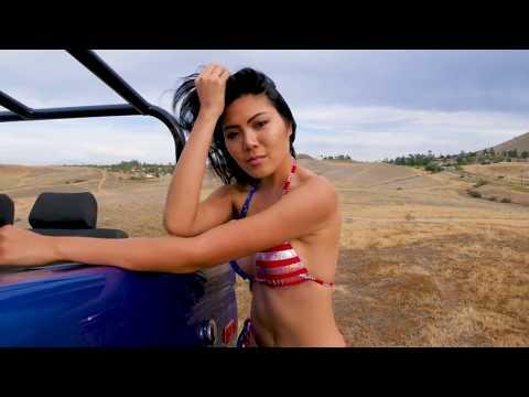 USA Flag Bikini By Bleorden Swimwear