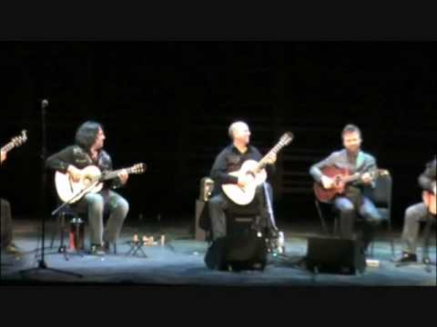 While my guitar gently weeps played by Montreal Guitar Trio & California Guitar Trio