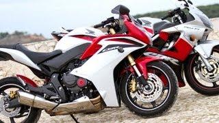 Prueba Honda CBR600F 2012