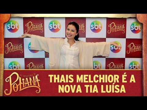 As Aventuras De Poliana | Thais Melchior é A Tia Luísa