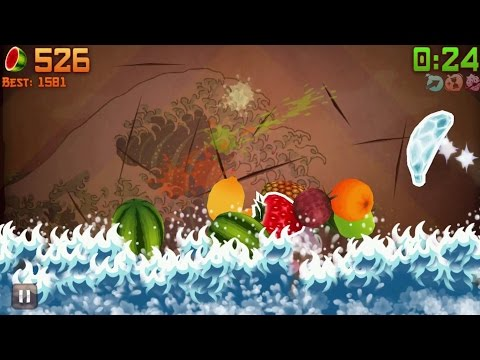 Fruit Ninja iPhone Gameplay #10