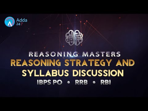 Reasoning Strategy and Syllabus Discussion For IBPS RRB PO PRE | Online Coaching for SBI Bank PO