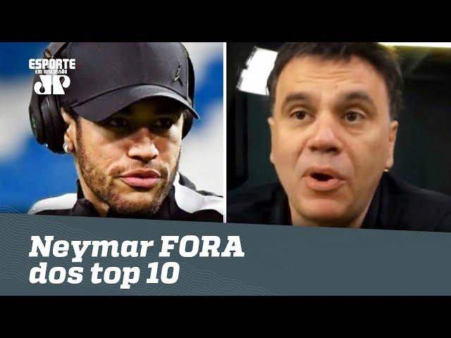 Olha o que Mauro Beting falou de Neymar FORA do TOP 10 da FIFA!
