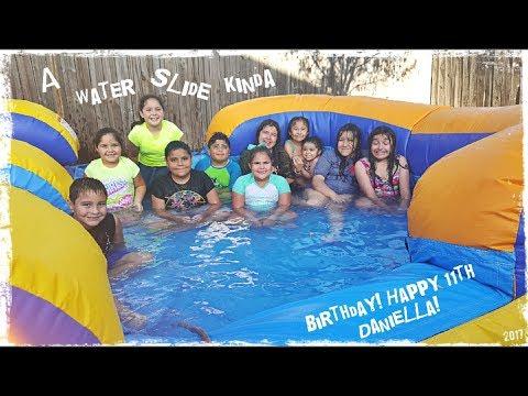 A WATERSIDE KINDA BDAY! HAPPY 11TH DANIELLA! 🎂 THEMTZVLOGS