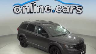 A10220YT Used 2017 Dodge Journey GT FWD 4D Sport Utility Gray Test Drive, Review, For Sale