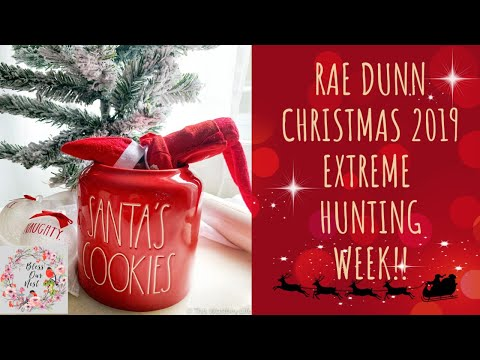 ** RAE DUNN CHRISTMAS IS HERE!!!! LET'S SHOP!!**