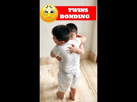 Twins bonding ~ Kenneth & Kenzo