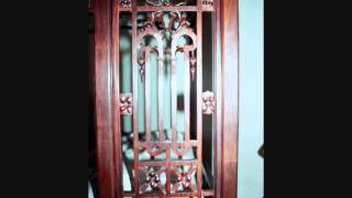 A Unique Antique Chinese Bed Circa 1830 Purple Rosewood