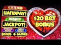❤️ Jackpot Handpay ❤️ Lock It Link $20 Bet Bonus + Bonus Rounds On High Limit Slots Casino Pokies