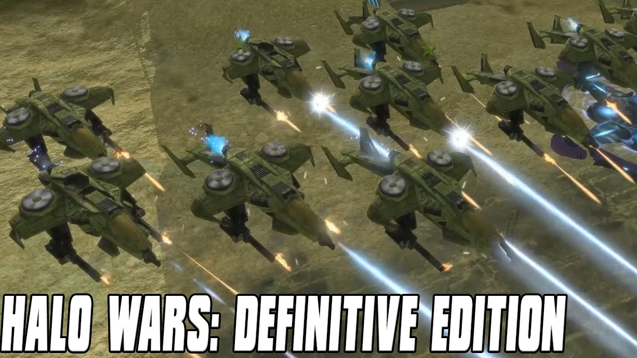 Halo Wars: Definitive Edition Gameplay Swooping Hawks