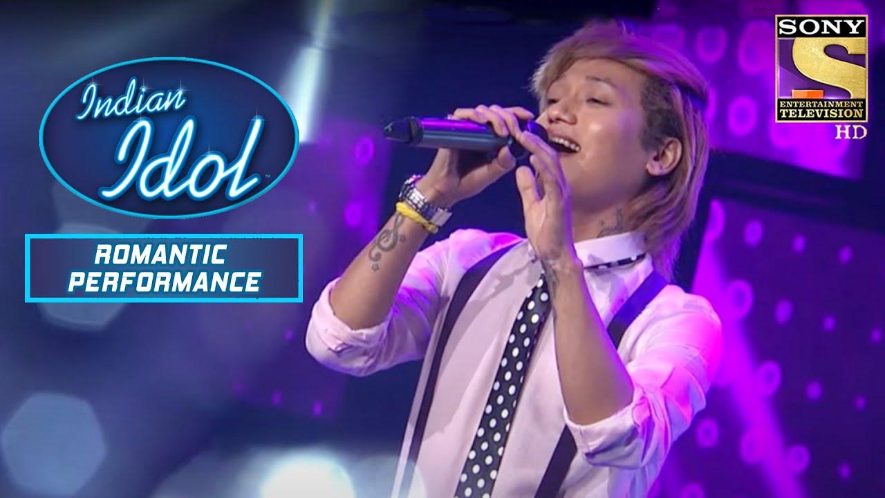 Download 'Tere Sang Yaara' पे इस Contestant ने दिया Romantic Performance   Indian Idol   Romantic Performance