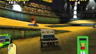 Destruction Derby 64 - Ambulance on Ground Zero (1st Place)