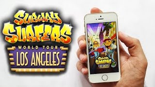 Subway Surfers Los Angeles Gameplay iPhone 5s iOS & Android HD