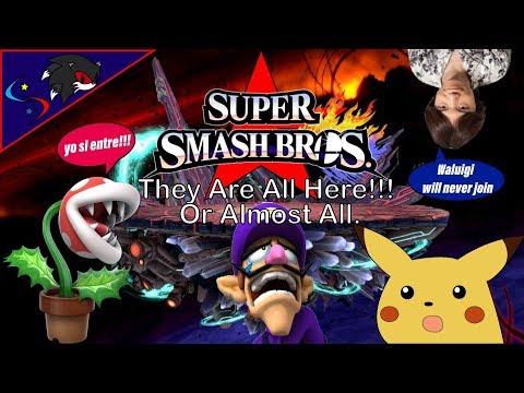 Super Smash Bros - El inico de una idea y El Comienzo de una Gran Franquizia.