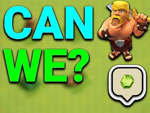 WOW! CAN WE GET 500 GEMS!? Clash Of Clans | REMOVING ALL THE OBSTACLES