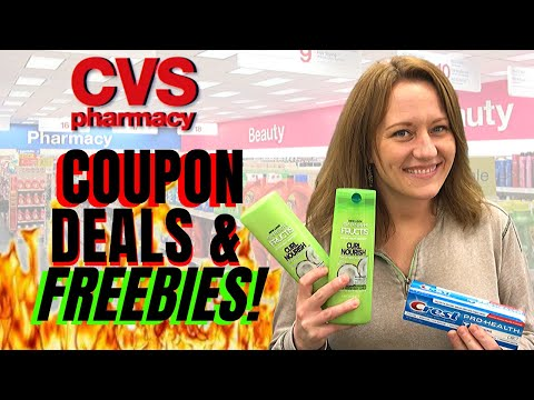 CVS COUPON DEALS & FREEBIES (3/8 – 3/14) FREE Hair care, Cosmetics, Lotion & More!