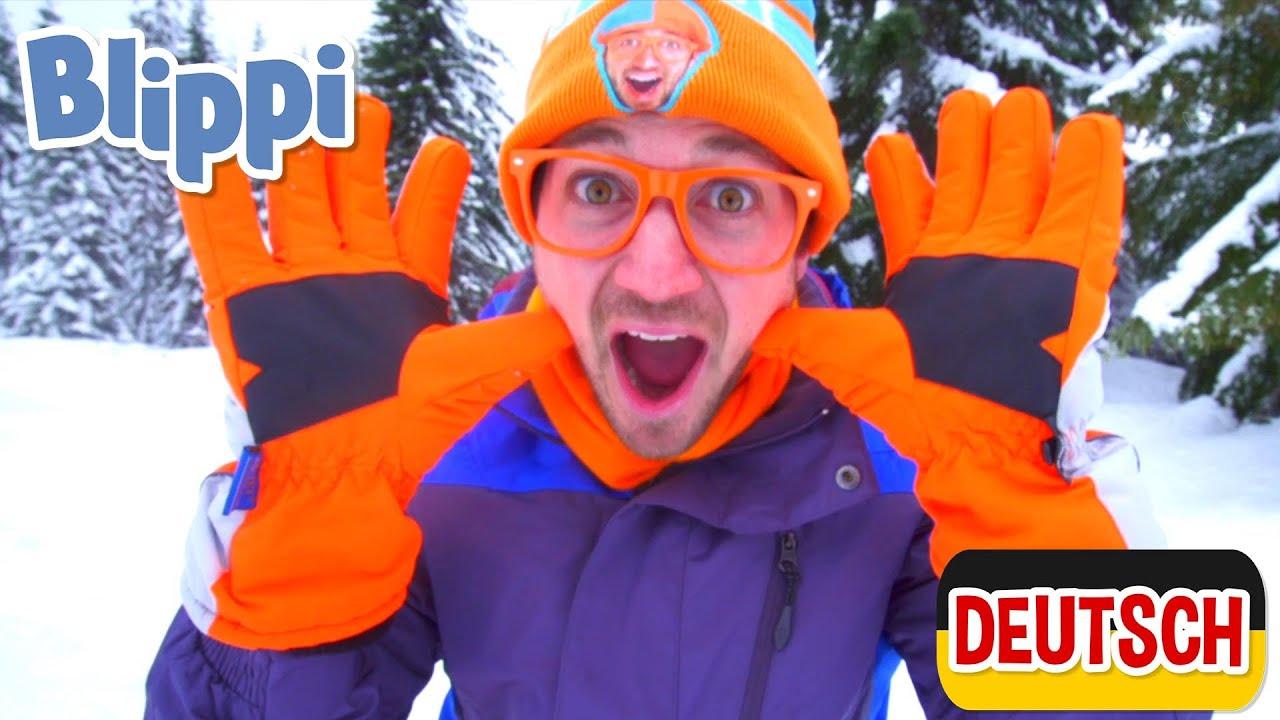 Blippi Deutsch - Lernt etwas über Schneemobile | Abenteuer und Videos für Kinder