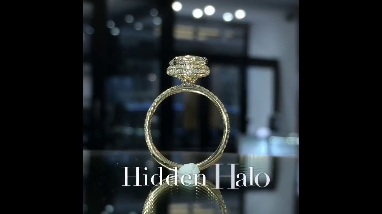Engagement Ring With Hidden Diamond