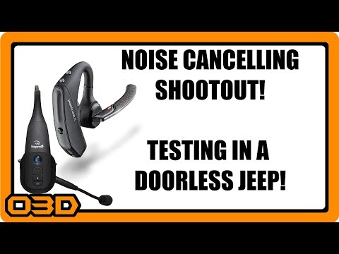 Noise Cancelling Bluetooth Microphone Shootout! Plantronics 5200/5220 Vs BlueParrott B350XT Topless