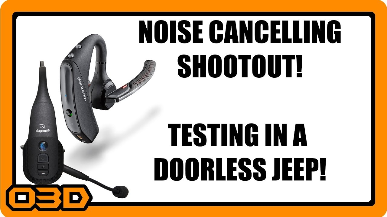 c63b7fdf35b Noise Cancelling Bluetooth Microphone Shootout! Plantronics 5200/5220 vs  BlueParrott B350XT Topless