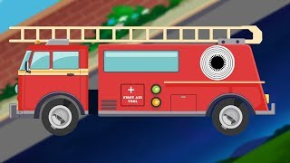 Fire Truck | Day to Night | Formation and Uses | Emergency Vehicles
