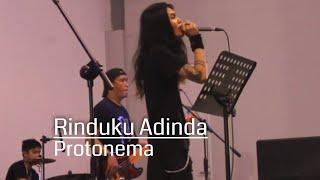 Protonema Rinduku Adinda Cover by Catrock Band, Live Space Jam Slow Rock Music Gelar Waroeng