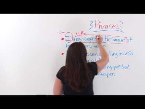 English Grammar: Sentence Phrases