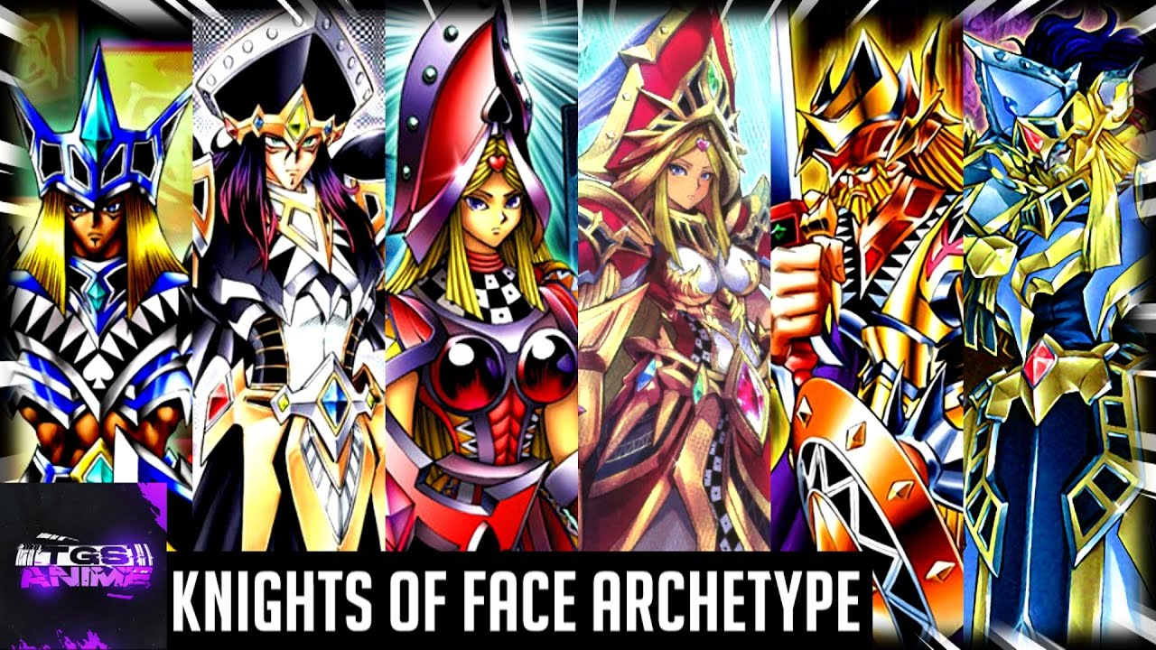 Yu-Gi-Oh! Trivia - Knights Of Face Archetype