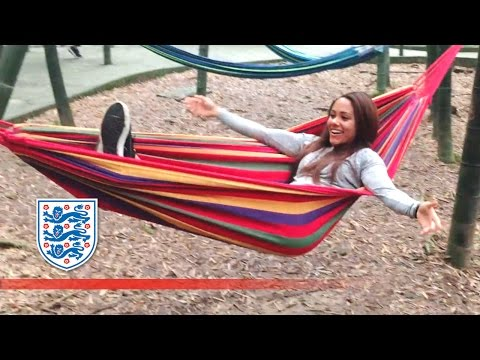 Alex Scott & England Women's day off in China  Player Diaries