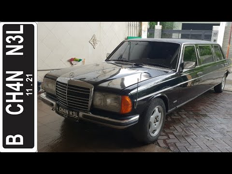 In Depth Tour Mercedes Benz 230 Tiger Limousine Modified W123 1979 Indonesia Youtube