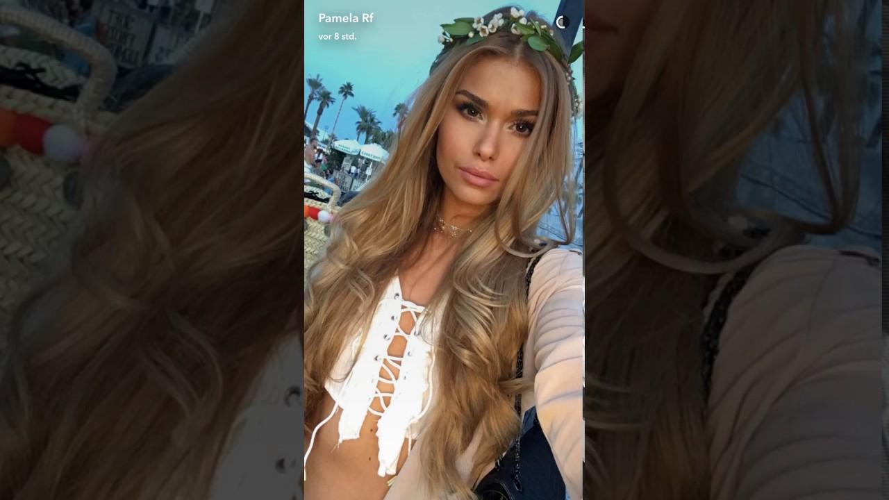 Pamela Reif Snapchat 1604