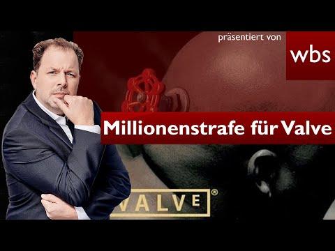 Steam im Visier: EU verhängt Millionenstrafe gegen Valve | Anwalt Christian Solmecke