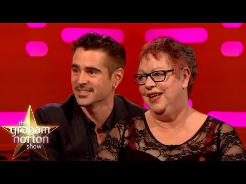 Jo Brand Does Naughty Yoga With Colin Farrell  The Graham Norton
