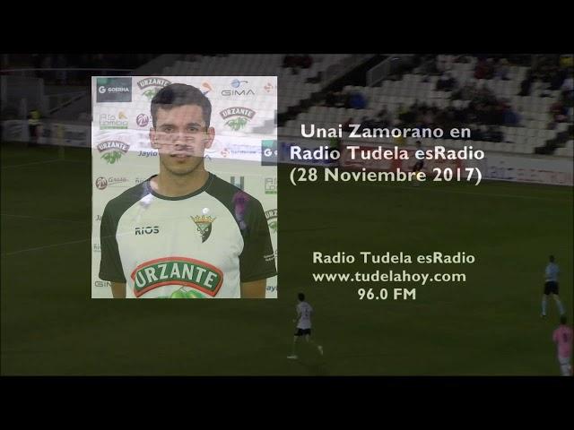 Entrevista a Unai Zamorano en Radio Tudela esRadio (28/11/17)