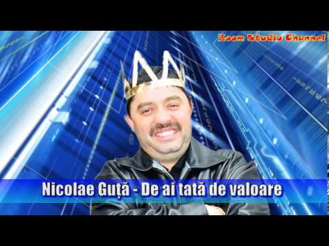 NICOLAE GUTA - DE AI TATA DE VALOARE, ZOOM STUDIO