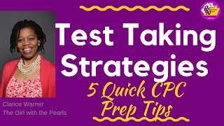 5 Quick CPC Prep Tips | Medical Coding Certification