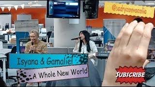 Gambar cover Live - Isyana & Gamaliel - A Whole New World Lyric (OST Aladdin)