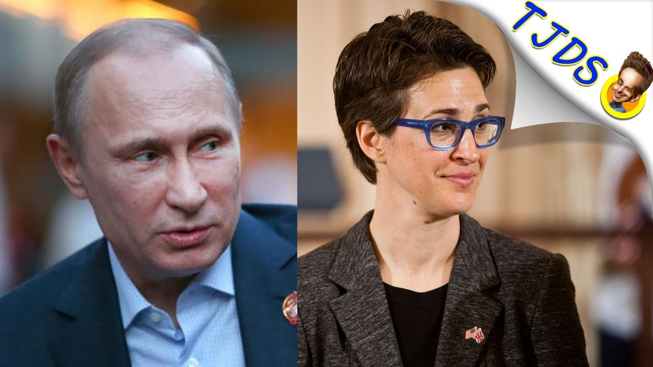 Rachel Maddow Gets Called Out For Beating W A R Drum With Russia
