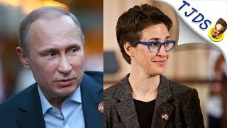 Rachel Maddow Gets Called Out For Beating W-A-R Drum With Russia