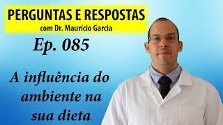 Como o ambiente influencia sua dieta - Perguntas e Respostas com Dr Mauricio Garcia ep 085