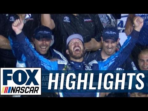 2017 Kansas Highlights (5.13.17) | FOX NASCAR