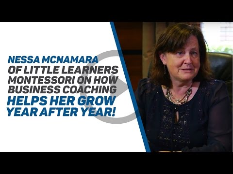 Nessa McNamara of Little Learners Montessori on How Business Coaching Helps her Grow Year After Year