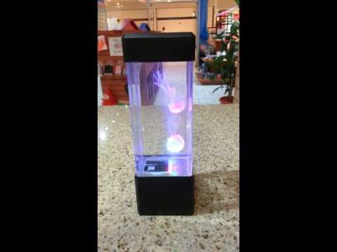 Jellyfish Fake Aquarium Lamp