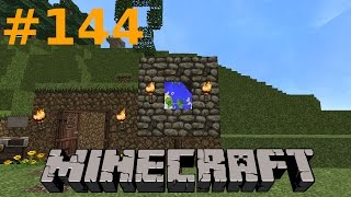 Minecraft - #144: U-Bahn-Abgang und Info-Tafel [Let's Play] [GER]